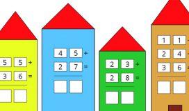 Matematica – LA ADDIZIONI CON IL CAMBIO