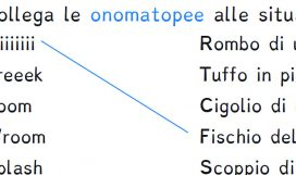 italiano - SIMILITUDINI, METAFORE E ONOMATOPEE